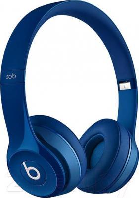 Наушники-гарнитура Beats Solo 2 Wireless Headphones / MHNM2ZM/A (синий)