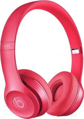 Наушники-гарнитура Beats Solo 2 On-Ear Headphones Royal Collection / MHNV2ZM/A (розовый)