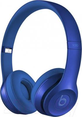 Наушники-гарнитура Beats Solo 2 On-Ear Headphones Royal Collection / MJW32ZM/A (синий)
