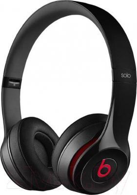 Наушники-гарнитура Beats Solo 2 On-Ear Headphones / MH8W2ZM/A (черный)