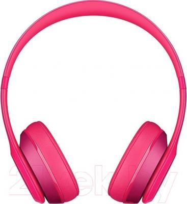 Наушники-гарнитура Beats Solo 2 On-Ear Headphones / MHBH2ZM/A (розовый)