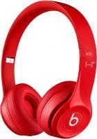 Наушники-гарнитура Beats Solo 2 On-Ear Headphones / MH8Y2ZM/A (красный) -