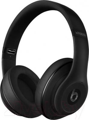 Наушники-гарнитура Beats Studio Wireless Over-Ear Headphones / MHAJ2ZM/A (матовый черный)