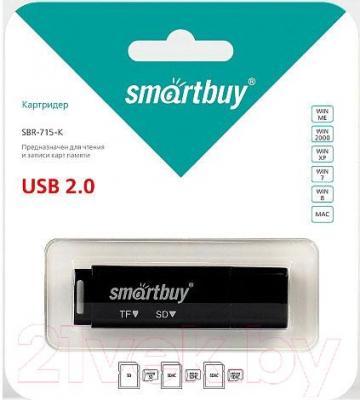 Картридер SmartBuy SBR-715-K (черный)