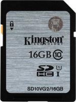 Карта памяти Kingston SHDC (Class 10) 16GB (SD10VG2/16GB) -
