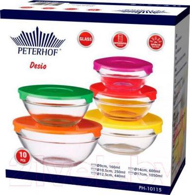 Набор контейнеров Peterhof PH-10115 - упаковка