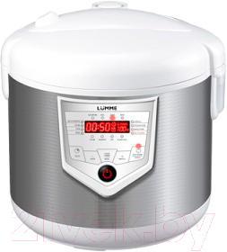 Мультиварка Lumme LU-1436 (белый/сталь)