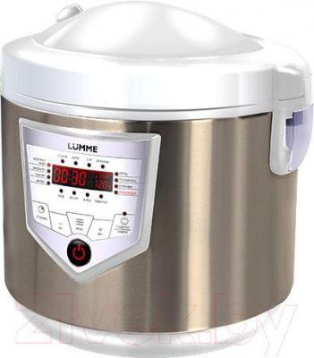 Мультиварка Lumme LU-1444 (белый/шампань)