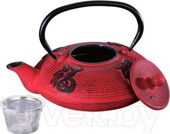 Заварочный чайник Peterhof PH-15622 (красный)