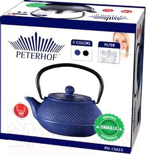 Заварочный чайник Peterhof PH-15623 (синий)