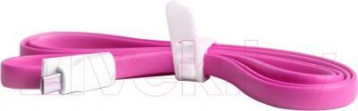 Кабель USB SmartBuy iK-12m (розовый)