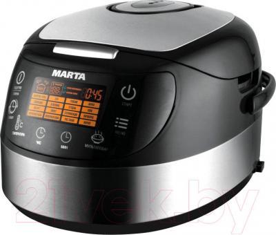 Мультиварка Marta MT-1986 (черный/сталь)