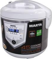 Мультиварка Marta MT-4301 (белый/сталь) -