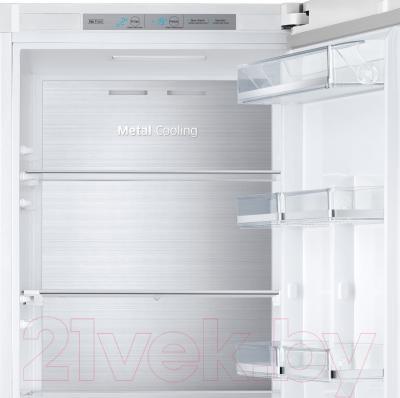 Холодильник с морозильником Samsung RB38J7761WW/WT