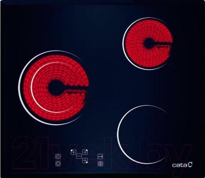 Электрическая варочная панель Cata TCD 603 FVI S/M