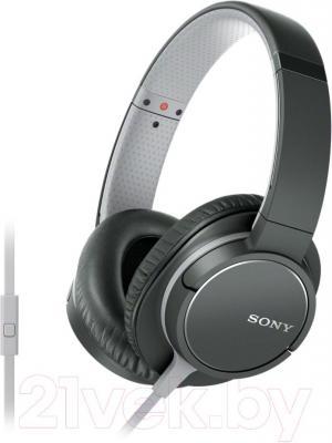 Наушники-гарнитура Sony MDR-ZX770AP (черный)