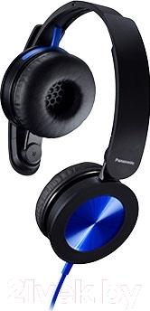 Наушники Panasonic RP-HXS220E-A (черно-синий)