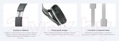 Наушники-гарнитура Sony MDR-ZX660AP (черный)