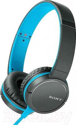Наушники-гарнитура Sony MDR-ZX660AP (синий)