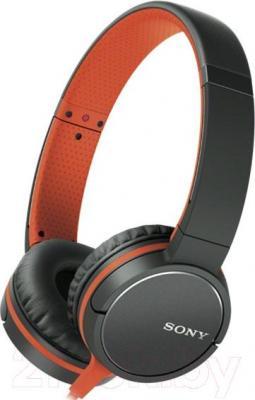 Наушники-гарнитура Sony MDR-ZX660AP (оранжевый)