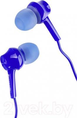 Наушники-гарнитура Panasonic RP-TCM105E-A (синий)