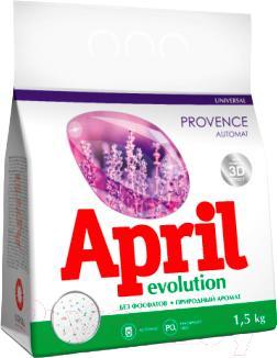 Стиральный порошок April Evolution Evolution Provence (1.5кг)