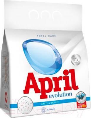Стиральный порошок April Evolution Evolution White&Bright (1.5кг, автомат)