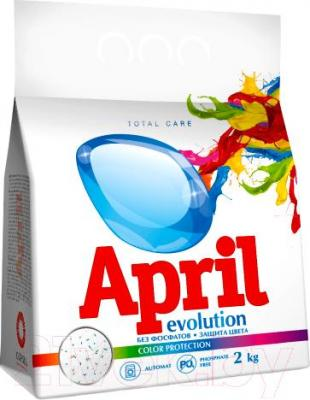 Стиральный порошок April Evolution Evolution Color Protection (2кг, автомат)