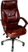 Кресло офисное Деловая обстановка Лагуна А MFT (темно-коричневый) -