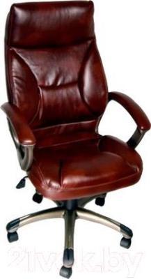 Кресло офисное Деловая обстановка Лагуна А MFT (темно-коричневый)