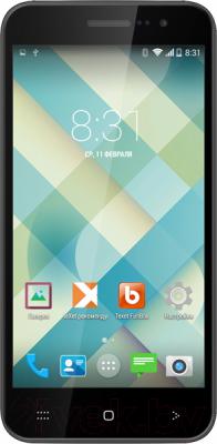 Смартфон TeXet X-style TM-4515 (черный)