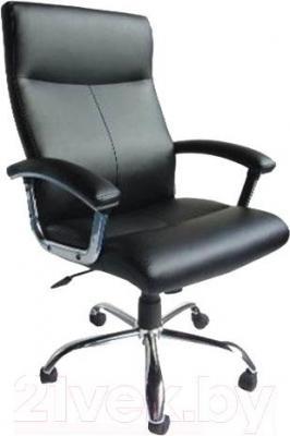 Кресло офисное Деловая обстановка Фаворит Хром MFT (черный)