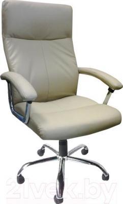 Кресло офисное Деловая обстановка Фаворит Хром MFT (бежевый)