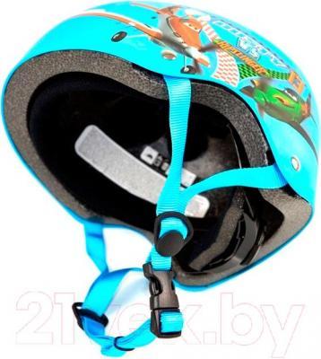 Защитный шлем Powerslide Allround Dusty S-M (901546) - вид сбоку