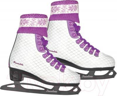 Коньки фигурные Powerslide Elle 902119 (размер 36, розовый)