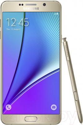 Смартфон Samsung Galaxy Note 5 / N920 (платиновый, 64Gb)