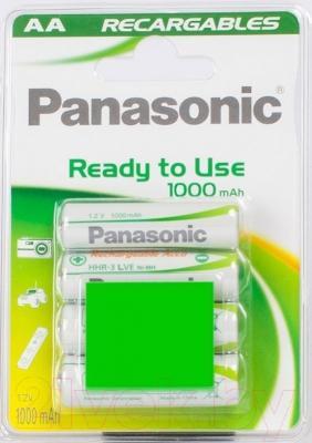 Аккумуляторы AA Panasonic HHR-3LVЕ/4BC
