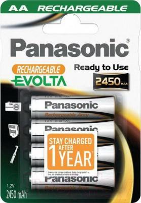 Аккумуляторы AA Panasonic HHR-3XXE/4B