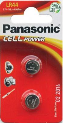 Батарейка LR44 Panasonic LR-44EL/2B (2шт)