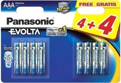 Батарейки ААА Panasonic LR03EGE/8B2F