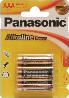 Батарейки ААА Panasonic LR03RЕB/4BPS