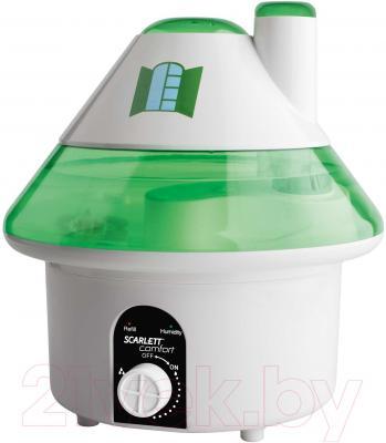 Ультразвуковой увлажнитель воздуха Scarlett SC-AH986M06 (бело-зеленый)