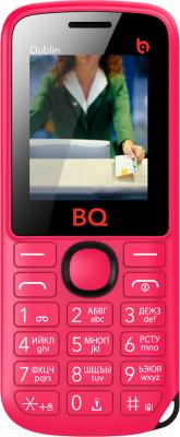 Мобильный телефон BQ Dublin BQM-1818 (розовый)