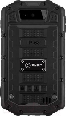 Смартфон Senseit R390+ (черный)