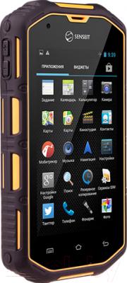 Смартфон Senseit R390+ (желтый)