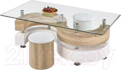 Журнальный столик Halmar Nina 4 - тарелка с клубникой в комплект не входит