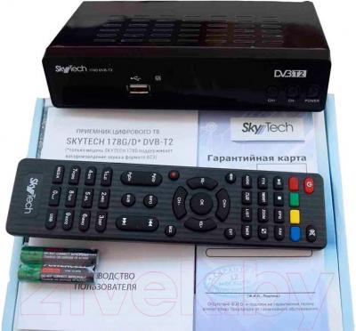 Тюнер цифрового телевидения Skytech 178D DVB-T2 - комплектация