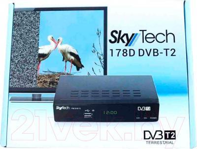 Тюнер цифрового телевидения Skytech 178D DVB-T2 - упаковка