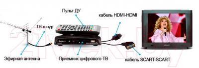 Тюнер цифрового телевидения Skytech 178D DVB-T2 - принцип работы тюнера
