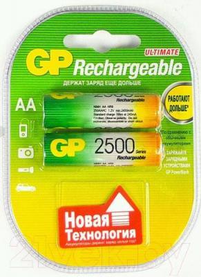 Аккумуляторы AA GP Batteries 250AAHC-2UEC2 2BP